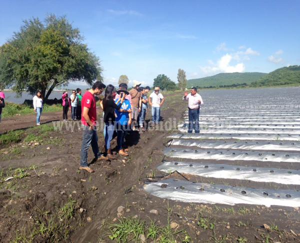 Asesorarán a productores que resulten afectados en esta temporada de lluvias