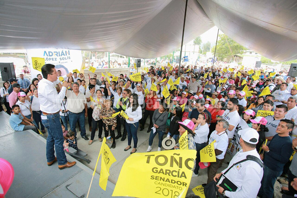 Un gobierno de coalición y no centralista, lo que el País necesita: Toño García