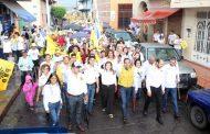 Ángel Macías realizó histórico cierre de campaña