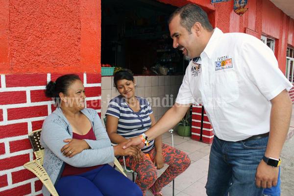 Ángel Macías reafirmó su compromiso con productores y habitantes del Colongo
