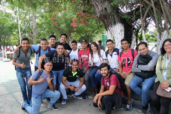 Los jóvenes estudiantes respaldan a Eréndira Castellanos por tener las mejores propuestas