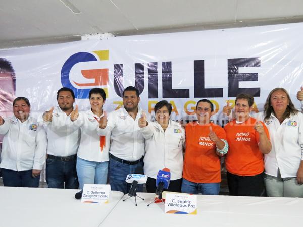 Nueva Alianza se suma al proyecto de Guille Zaragoza