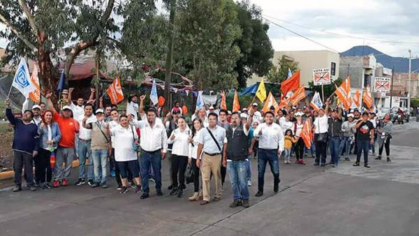 Colonias respaldan proyecto y reconocen el trabajo de Guille Zaragoza