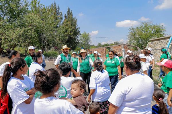 Juntos vamos a alcanzar mayores oportunidades de desarrollo y bienestar: Noemí Ramírez