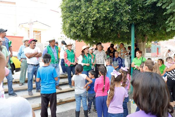 Noemí Ramírez continuará con resultados de gestión para escuelas