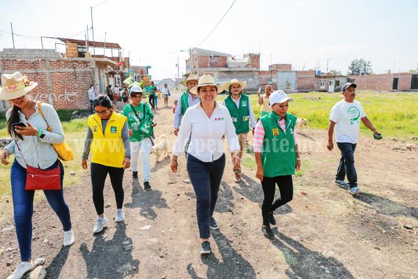 La voz del sector obrero es nuestra voz; la vamos a llevar al Congreso: Noemí Ramírez