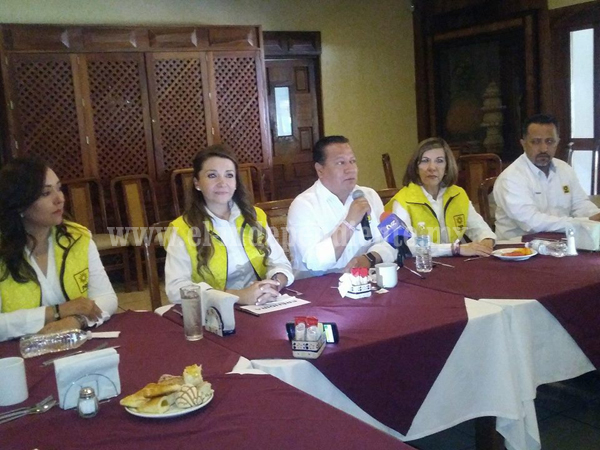 Arropó dirigencia del PRD  a candidata a la presidencia del frente por Zamora