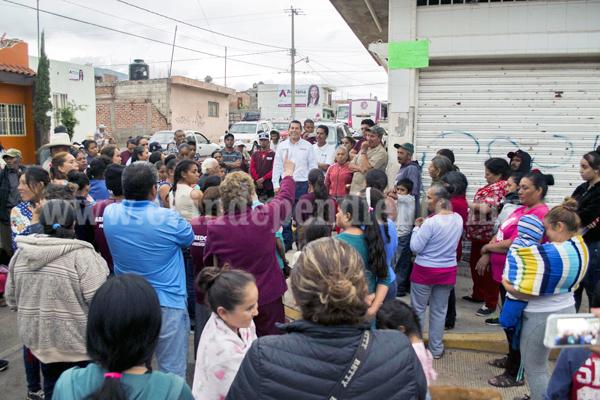 Martín Arredondo fue bien recibido en Palito Verde
