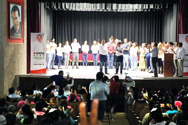 Se suma estructura de Movimiento Ciudadano del regidor Toño Arizaga a proyecto de Rubén Nuño