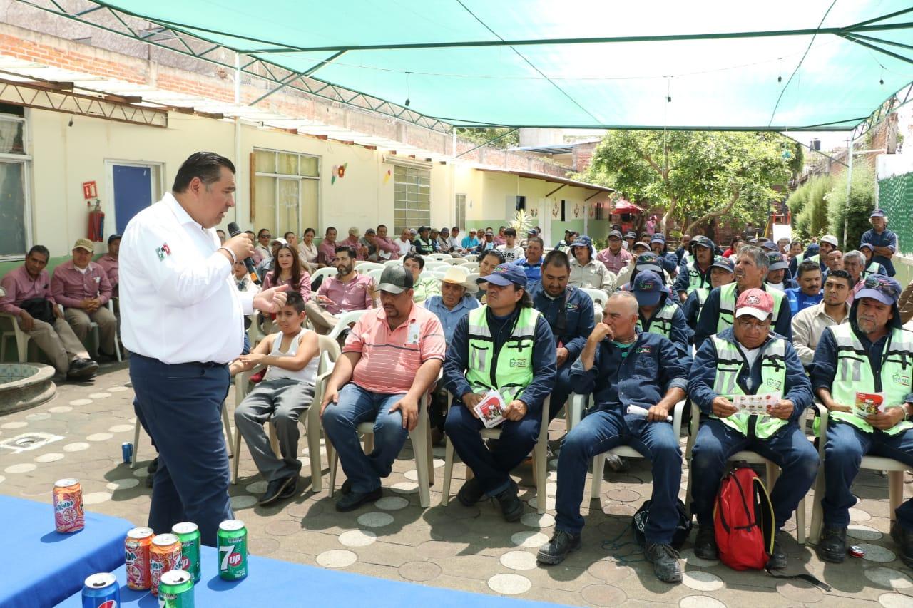 Propuestas de los ciudadanos son importantes para mi proyecto de gobierno: Rubén Nuño