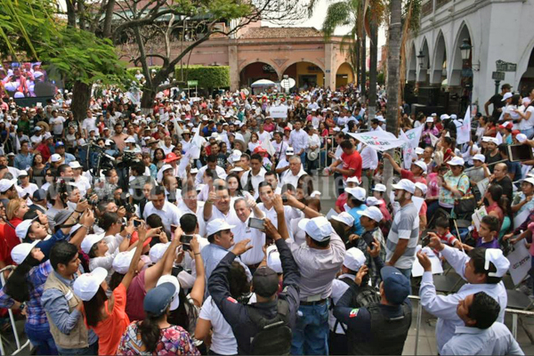 Rubén Nuño será la puerta que resuelva problemas de los zamoranos: José Antonio Meade