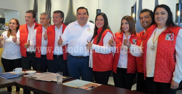 Declinan candidatos de Nueva Alianza, se suman al proyecto de Rubén Nuño