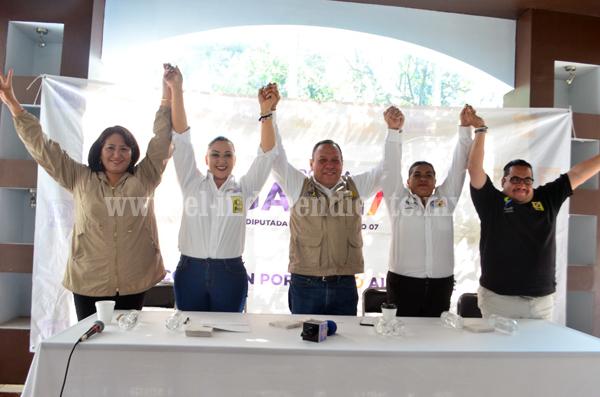 Verónica García demostró tener una campaña exitosa y con la mejor propuesta