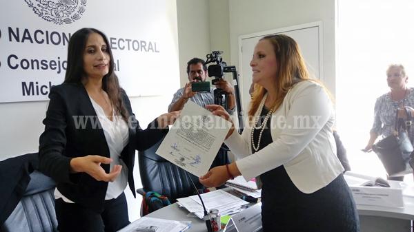 Yolanda Guerreo es diputada federal electa, recibió  constancia de mayoría