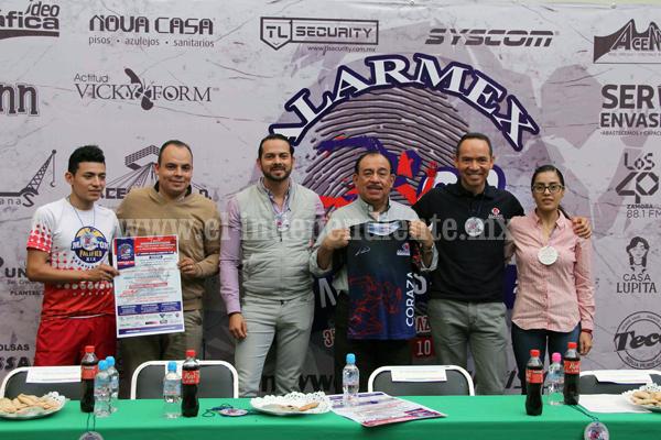 """Anuncian """"3er Carrera Coraza Alarmex de 5 y 10 K"""""""