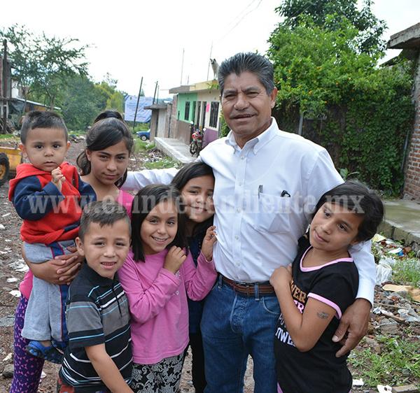 FAMILIAS VULNERABLES LAS MÁS BENEFICIADAS DURANTE LA ADMINISTRACIÓN DE RUBÉN CABRERA