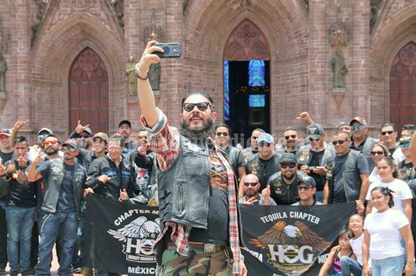 Forman nuevo club de motociclistas Chapter, Hog Tequila-Zamora de Harley Davidson