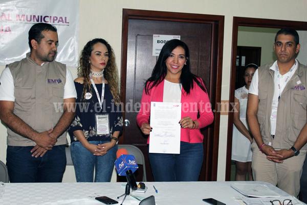 IEM ratificó triunfo de Adriana Campos Huirache