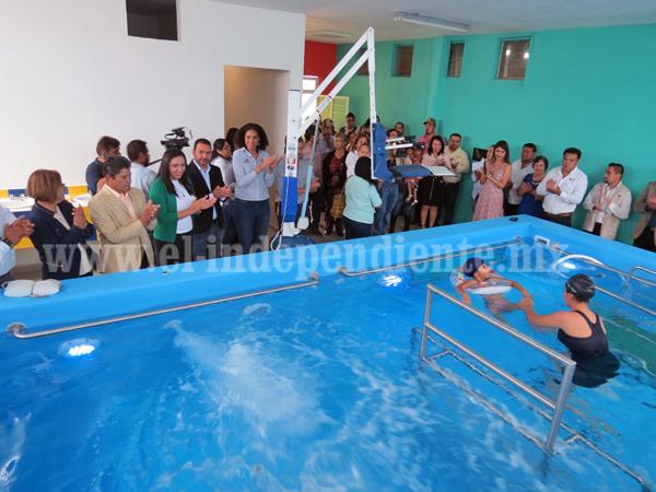 Ponen a funcionar el Centro de Rehabilitación Integral en Jacona