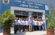 Inauguran segunda etapa de Casa de la Cultura en Tangancícuaro