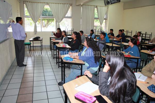 Tec Zamora inició curso de nivelación a más de 720 alumnos de nuevo ingreso
