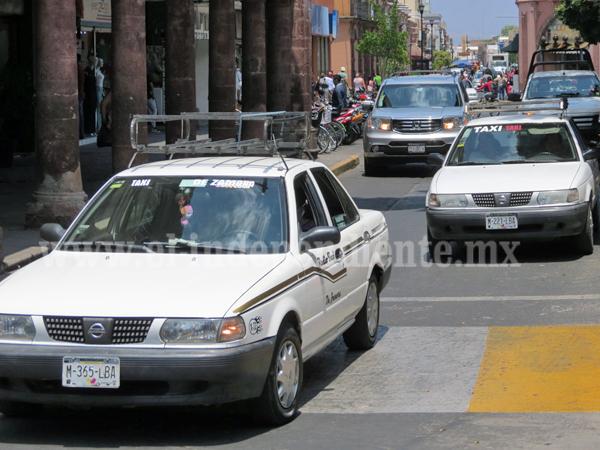 Taxistas aumentaron 5 pesos su tarifa, sin autorización previa de COCOTRA