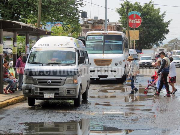 COCOTRA pide mesura en intención de aumento a transporte