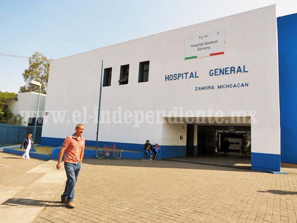 10 millones de pesos, inversión para dignificar Hospital General de Zamora