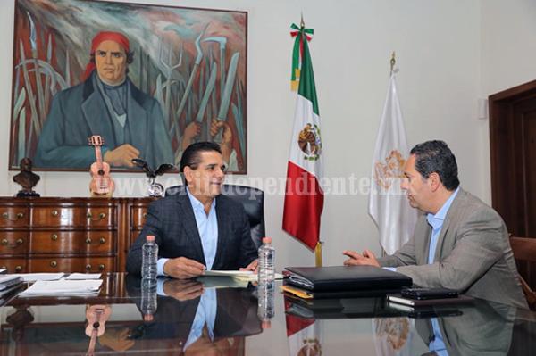 Prioritario, fortalecer proyectos de la ZEE de Lázaro Cárdenas: Silvano Aureoles