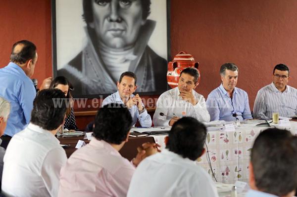 Gobernador y sector empresarial dan continuidad a agenda común para Michoacán