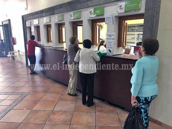 64 por ciento de predios del municipio al corriente con su impuesto predial