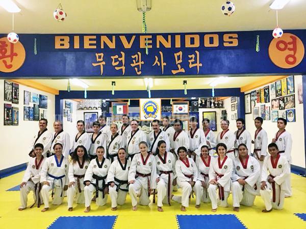 Realizan examen de Kups y Seminario de Arbitraje en Moo Duk Kwan Zamora