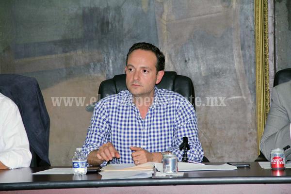 Sin deuda la administración del alcalde José Carlos Lugo Godínez