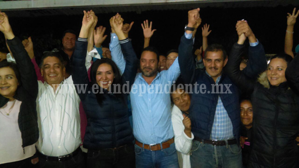 Adriana Campos se declaró ganadora a la presidencia municipal de Jacona