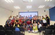 El equipo del Real Zamora recibió charla en tema nutricional