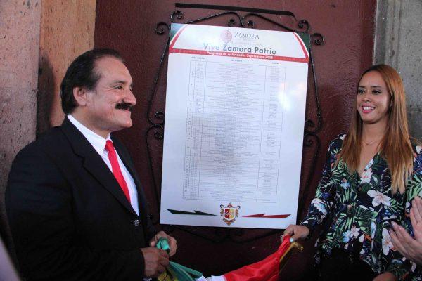 Autoridades Municipales ponen en marcha actividades alusivas al Mes de la Patria