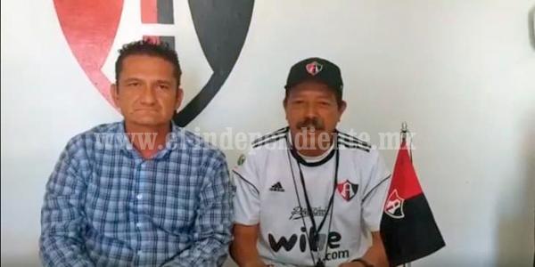 Ramón Alfredo Bustos llega al frente del club Atlas Zamora