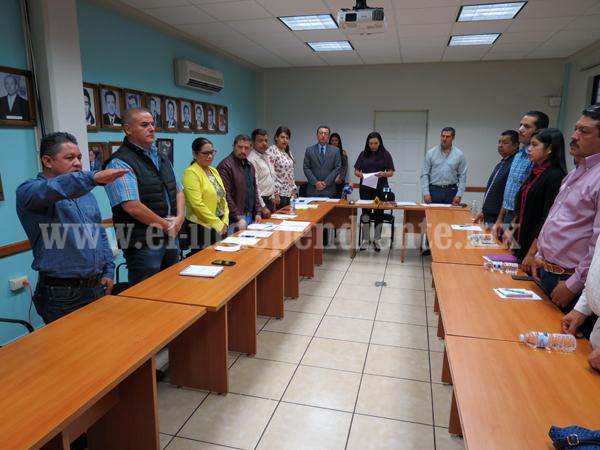 Avanzan designaciones de funcionarios en Jacona