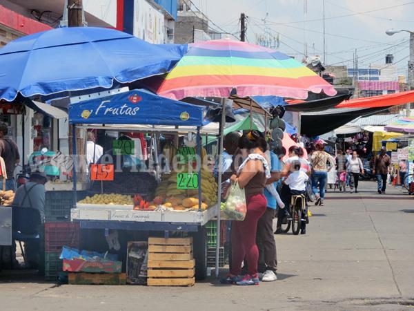 Locatarios celebran ordenamiento de ambulantaje en zona del Mercado Hidalgo