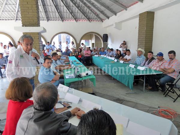 Destinó Sagarpa más de 50 mdp en este distrito a diferentes programas y componentes