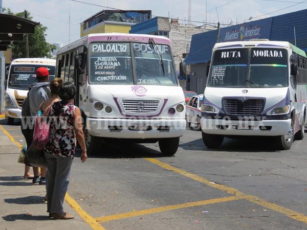Ahora resulta que usuarios son causantes de mal estado de microbuses