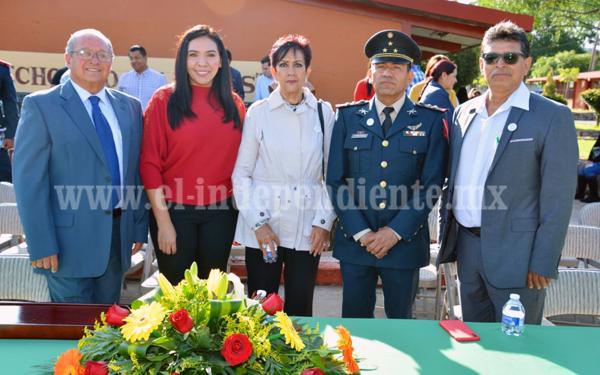 """Ceremonia Solemne de incineración de Banderas de la Secundaria 1 """"Francisco J. Múgica"""""""