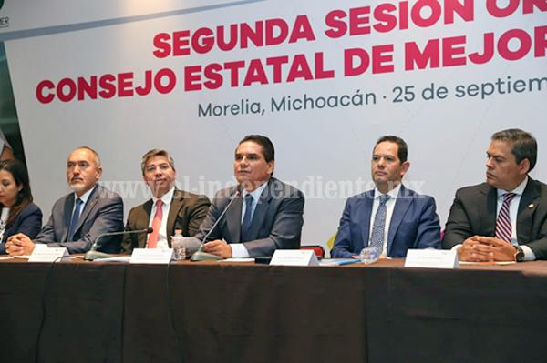 Michoacán será de los cinco estados con mayor simplificación en trámites: Silvano Aureoles