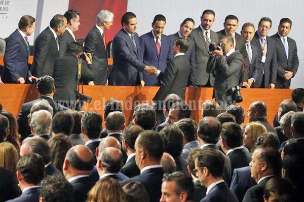Asiste Gobernador a 6º Informe de Gobierno del Presidente Peña Nieto
