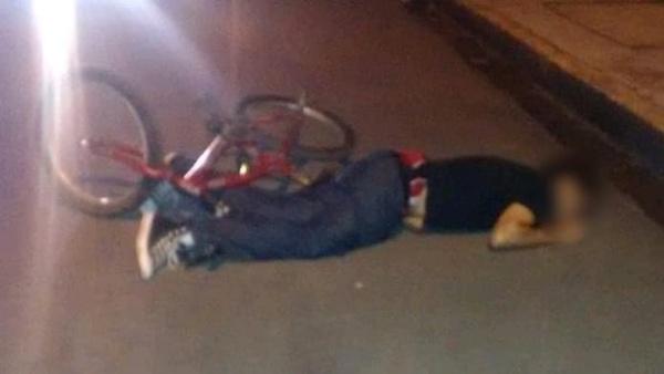 Ciclista es aniquilado a balazos en el Infonavit La Pradera