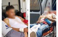 Rafaguean a tres muchachos en Jacona, son hospitalizados