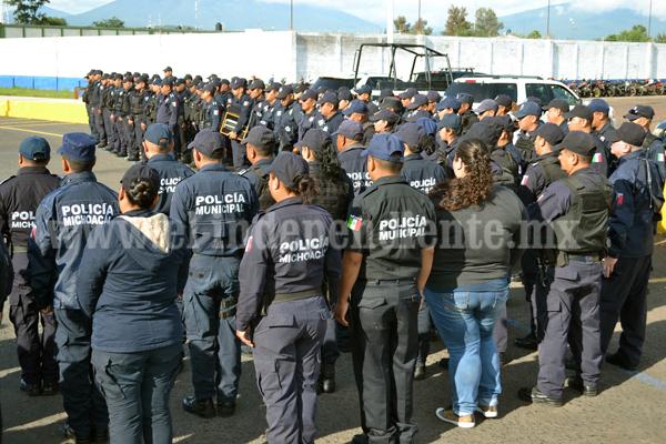 Buscaremos mejores prestaciones para nuestros policías: Martin Samaguey Cárdenas