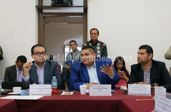 """""""Sin incrementos injustificados iniciamos análisis de leyes de ingresos municipales  2019"""