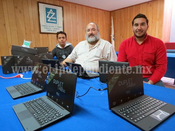 Quedan pocos equipos tecnológicos portátiles ofrecidos por CANACO