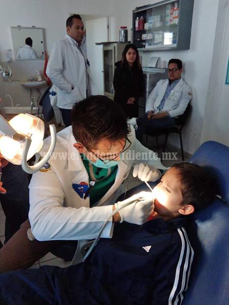 Arrancó segunda semana nacional de salud bucal